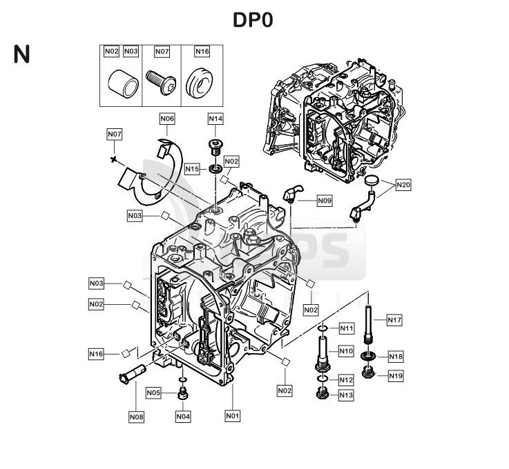 automatikgetriebe renault scenic dp0 dp0 n kaps automatikgetriebe. Black Bedroom Furniture Sets. Home Design Ideas