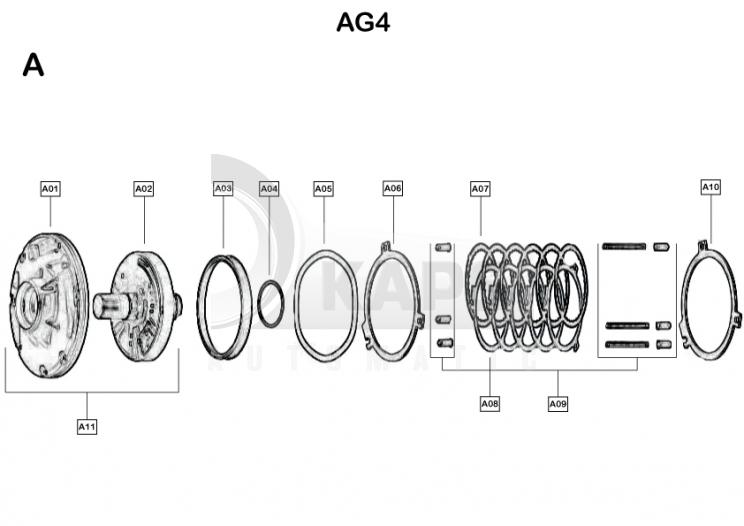 automatikgetriebe audi a3 ag401m ag401m a kaps automatikgetriebe. Black Bedroom Furniture Sets. Home Design Ideas
