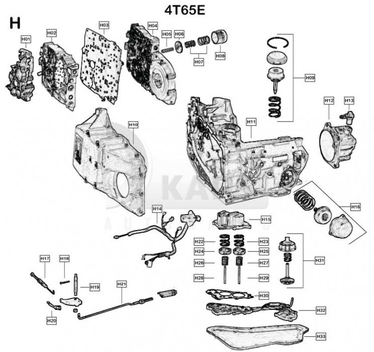 automatikgetriebe - volvo-xc90 - 4t65e    4t65e