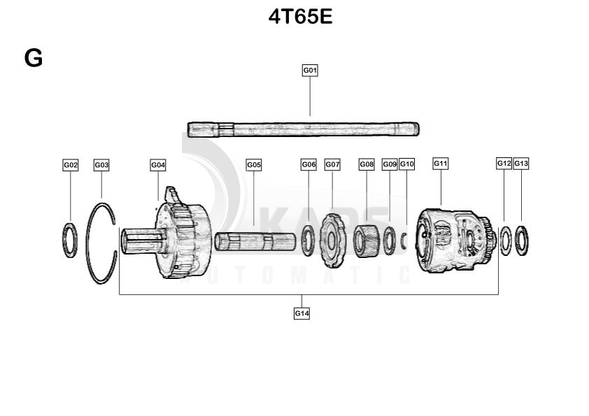 4t65e Parts Diagram Schematic Diagrams